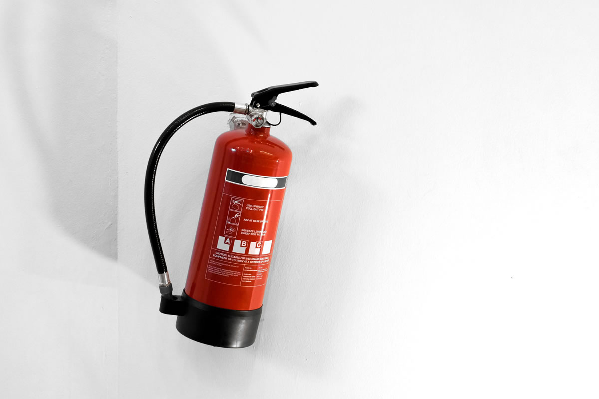 Five Steps for Extinguishing Fires in Your Home