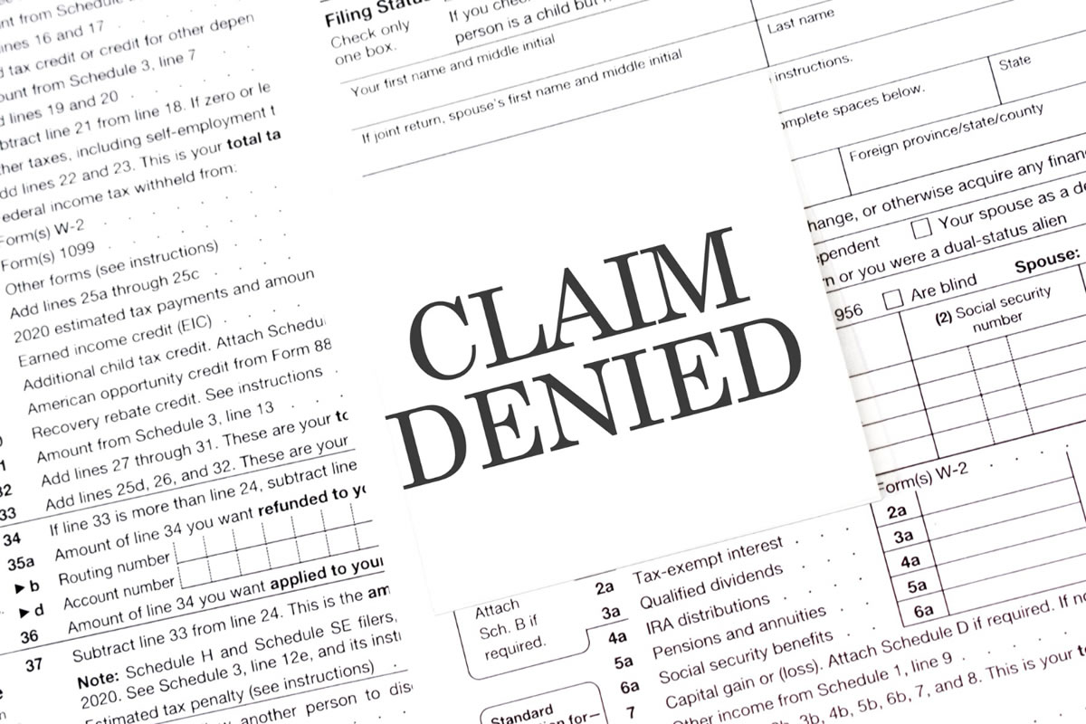 Five Steps to Take When Your Insurance Claim Is Denied