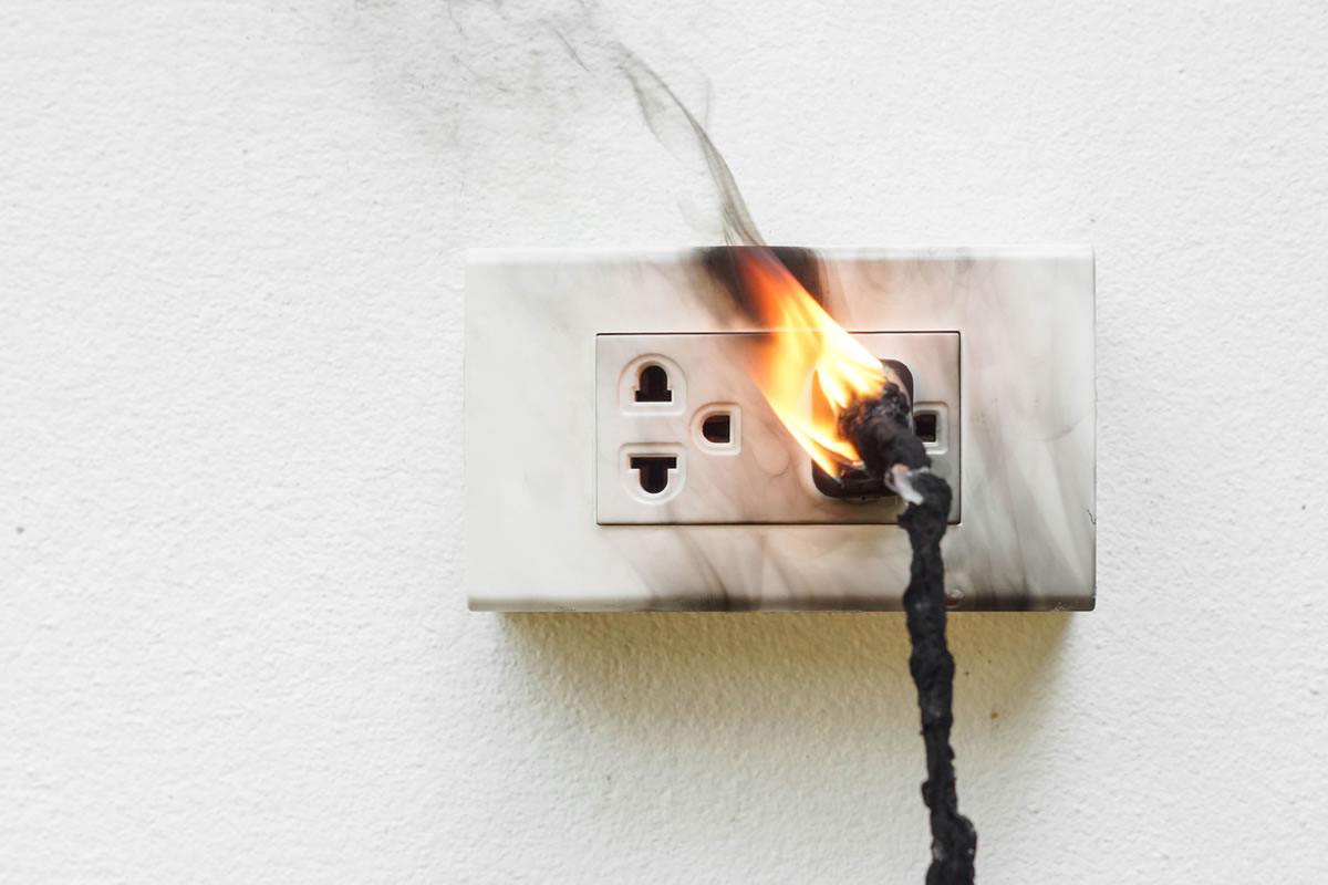 Five Electrical Issues that Can Lead to Fires in Your Home